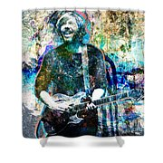 Trey Anastasio - Phish Original Painting Print Shower Curtain