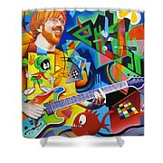 Trey Kandinsky  Shower Curtain