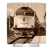 Tri Rail 808 Shower Curtain