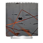 Triangle Drama Shower Curtain
