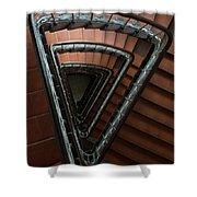 Triangle Staircase Shower Curtain