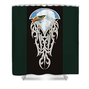 Tribal Eagle Shower Curtain