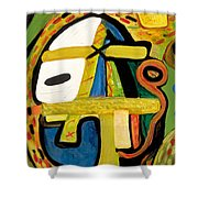 Tribal Mood Shower Curtain