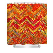 Tribal Pattern 019 Shower Curtain