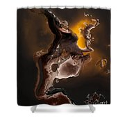 Tribal The Fire Within Shower Curtain