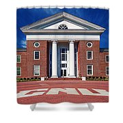 Trible Library Christopher Newport University Shower Curtain