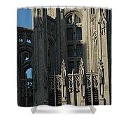 Tribune Tower Shower Curtain