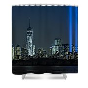 Tribute In Light 2013 Shower Curtain