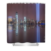 Tribute In Light Reflections Shower Curtain