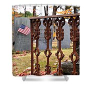 Tribute To A Soldier Shower Curtain