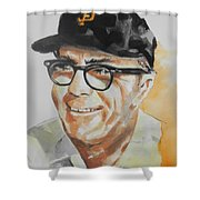 Tribute To Edward Logan My Grandfather  Shower Curtain