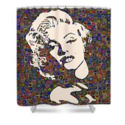 Tribute To Marilyn Monroe Shower Curtain