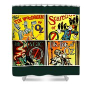 Tribute To Oz Shower Curtain