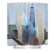 Tribute To Sept 11 Shower Curtain