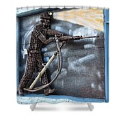 Tribute To The Miner Shower Curtain