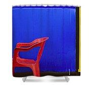 Trichromat Shower Curtain