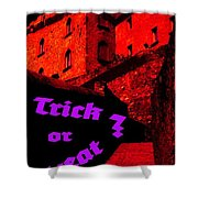 Trick Or Treat ? Shower Curtain