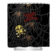 Trick Or Treat Halloween Digital Artwork Shower Curtain