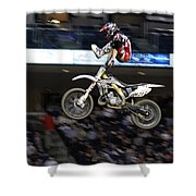 Trick Rider Shower Curtain