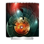 Trigger Image Shower Curtain