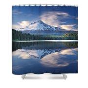 Trillium Lake Escape Shower Curtain