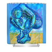Trilogy - N My Soul 1 Shower Curtain