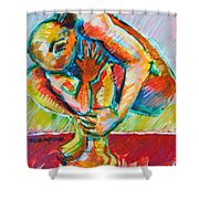 Trilogy - N My Soul 3 Shower Curtain