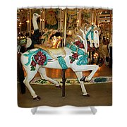 Trimper's Carousel 3 Shower Curtain