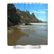 Trinidad Luffenholtz Beach Shower Curtain