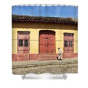 Trinidad Streets Cuba Shower Curtain