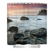 Trinidad Sunset Seascape Shower Curtain