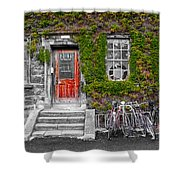 Trinity College Dorm - Dublin Ireland Shower Curtain