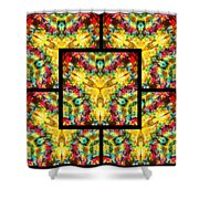 Trinity Crossroads Page Shower Curtain