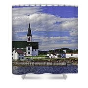 Trinity In Newfoundland Shower Curtain