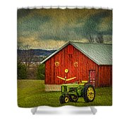 Trip To The Happy Farm Shower Curtain