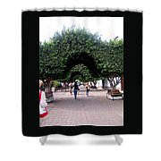 Triple Arches Shower Curtain