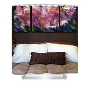 Triptych Display Sample 01 Shower Curtain