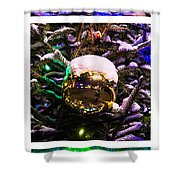 Triptych - Traffic Lights Christmas - Featured 2 Shower Curtain