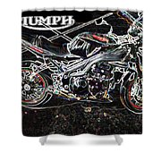 Triumph Abstract Shower Curtain