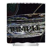 Triumph 2 Shower Curtain