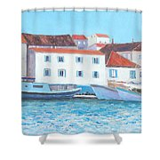 Trogir Croatia Shower Curtain
