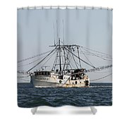 Troller To Port Shower Curtain