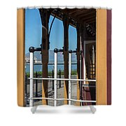Trolley 28 Shower Curtain