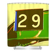 Trolley 29 Shower Curtain