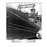 Troop Carrier Shower Curtain