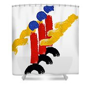 Trooping The Colour Shower Curtain