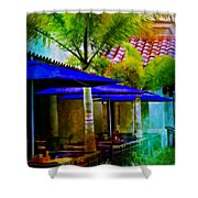 Tropical Al Fresco Shower Curtain