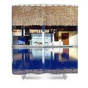 Tropical Bar Shower Curtain