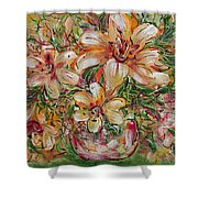 Tropical Beauties Shower Curtain