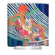 Tropical Beauty  Shower Curtain by Don Larison